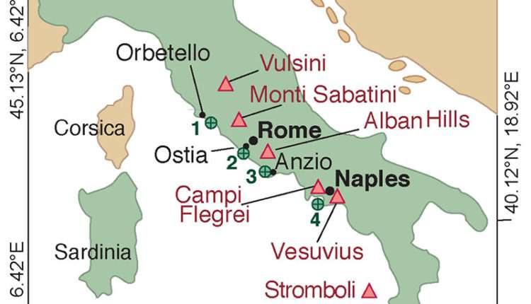 Бетонные гавани древнего Рима