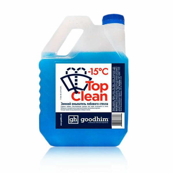 Стеклоомывающая жидкость GOODHIM TOP CLEAN — 15°С