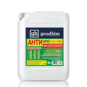 Антифириз для систем отопления GOODHIM EСО -65 (зеленый) (концентрат)