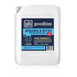 Комплексная добавка с пластифицирующим и противоморозным эффектом для бетонов и растворов GOODHIM FROST PREMIUM