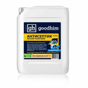 Антисептик для наружных и внутренних работ (легкой тонировки) GOODHIM N300 (готовый раствор)