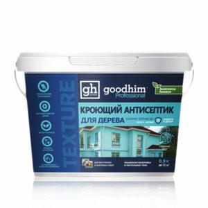 Кроющий антисептик для дерева GOODHIM TEXTURE 651 (база А)