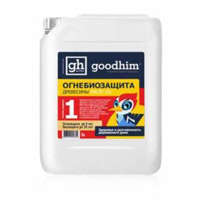 Огнебиозащита GOODHIM Prof 1G 1-я группа огнезащиты (готовый раствор)