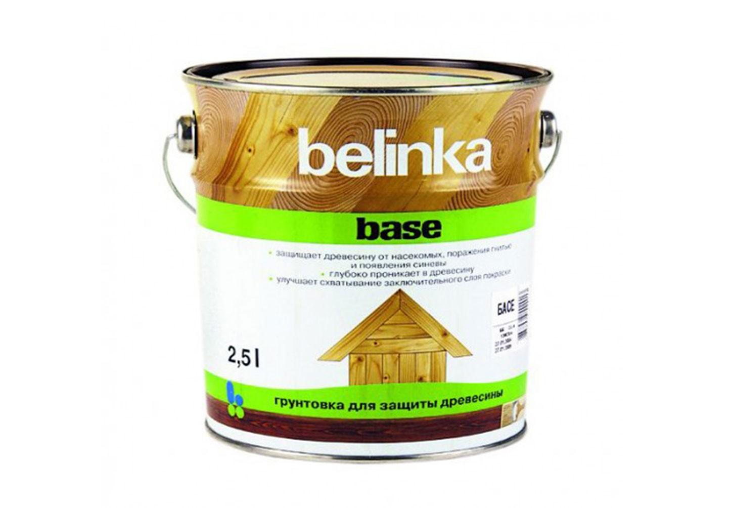 Belinka Base — бесцветная, глубоко проникающая грунтовка, предназначенная для превентивной защиты древесины от биологических повреждений.